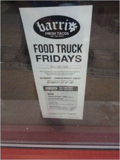 Barrio Food Truck.